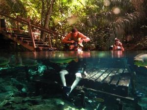 Flutuação Rio Sucuri