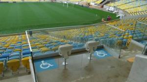 Lugares para cadeirantes no Maracanã