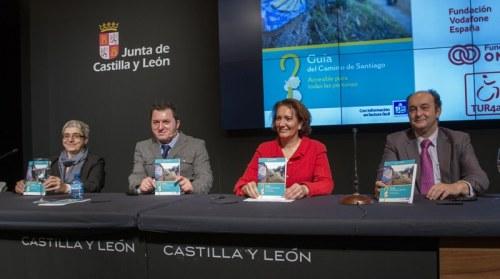 La guía analiza 555 kilómetros del Camino de Santiago Francés, y se analiza el grado de accesibilidad a través de la clasificación en tres niveles
