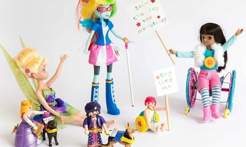 Toy Like Me have specially modified toys to positively reflect disability