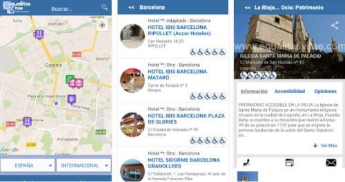 'Turismo Accesible'  es la nueva aplicación móvil creada por Equalitas Vitae, gestionada por personas con discapacidad