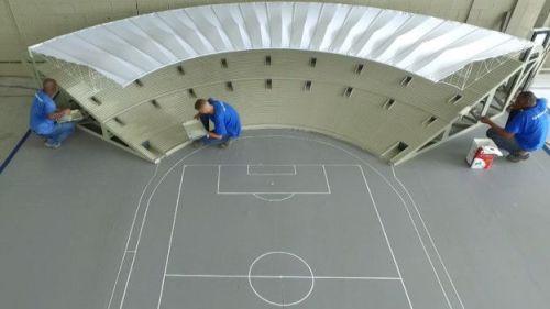 Maquete de 10 metros de largura ajuda diretores artísticos com conceitos das cerimônias dos Jogos
