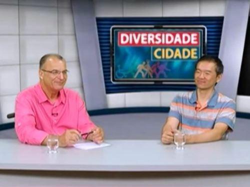 Roberto Rios do programa Diversidade da TV Câmara SP entrevista Ricardo Shimosakai, Diretor da Turismo Adaptado