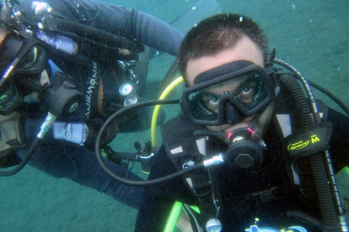 Scuba diving in Bali was one of Madipalli's most challenging yet rewarding travel experiences