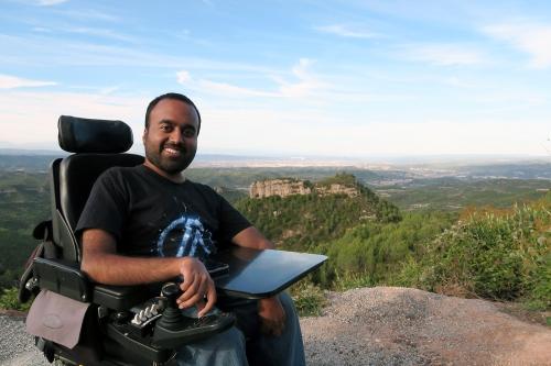 Srin Madipalli exploring Catalonia, Spain