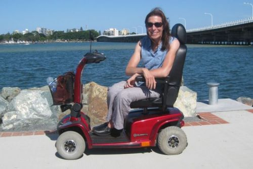 Yasmine Gray has long been passionate about travelling the world but has been restricted by multiple sclerosis.