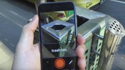 O app Aipoly Vision ferramenta faz uma leitura de elementos através da câmera do celular e os descreve em um áudio