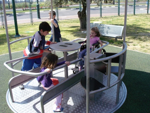 Plans to turn a local park into a playground for disabled children are underway, thanks to the efforts of a local group.