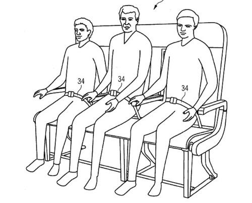 A fileira também pode ser utilizada normalmente por três passageiros