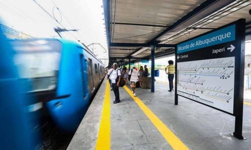 A inauguração da estação Ricardo de Albuquerque - dentro de padrões de acessibilidade