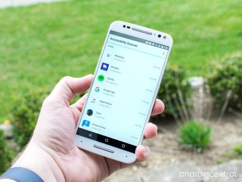 Acessibilidade Scanner é uma ferramenta que sugere melhorias de acessibilidade para aplicativos Android sem a necessidade de habilidades técnicas