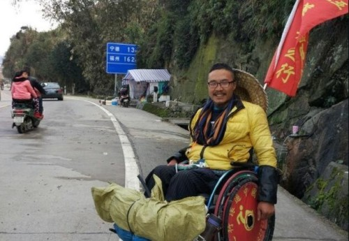 In each of the cities he has visited, Quan made it a point to document the type of facilities available for disabled people like himself