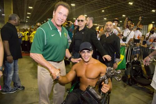 O evento Arnold Classic Brasil 2016 ofereceu diversas propostas reunindo o esporte e a inclusão