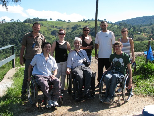 Ricardo Shimosakai, Nelida Barbeito, Scott Rains, Jani Nayar, Joedson Nunes, Craig Grimes and Bruna Mendes in technical visit in Socorro