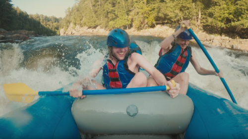 Similarities have been noted between Tourism Quebec's viral three-and-a-half minute 'blindlove' video, released last month, and a 2014 South African Tourism campaign.