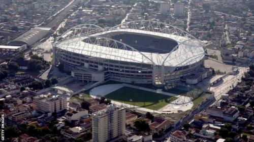The Olympic Stadium in Rio de Janeiro that will play host to some of the Paralympics' main events