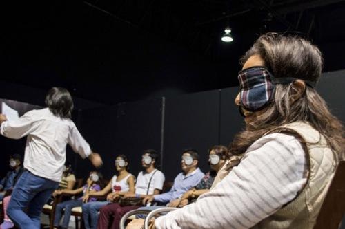 Circo de Sombras está en España a partir de un convenio que firmaron la Sociedad Mixta para la Promoción del Turismo de Valladolid