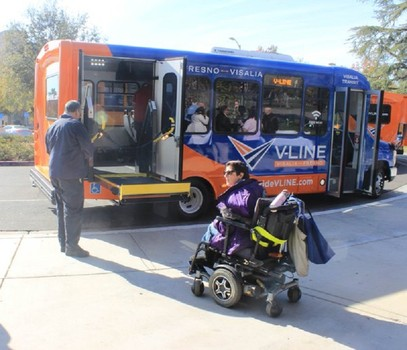 Each V-LINE shuttle offers free Wi-Fi, USB charging ports, wheelchair accessibility and storage racks.