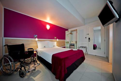 O hotel Go Inn é um dos exemplos da hotelaria amazonense quando o assunto é acessibilidade