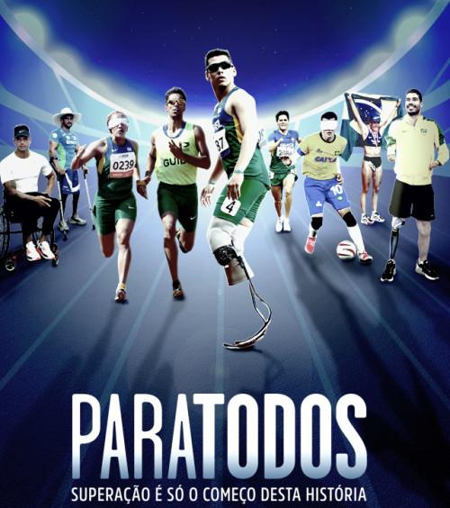 'Paratodos' acompanha quatro equipes paralímpicas e apresenta o cotidiano de vários esportistas de alta performance