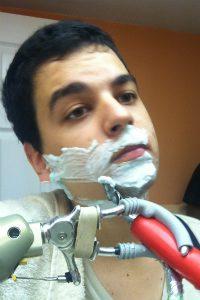Pedro cumpre as tarefas diárias