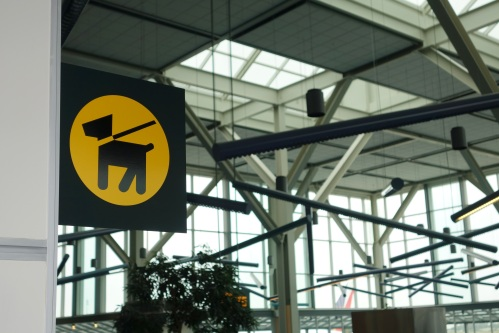 Vancouver International Airport recently unveiled Canada's first in-terminal pet relief area.