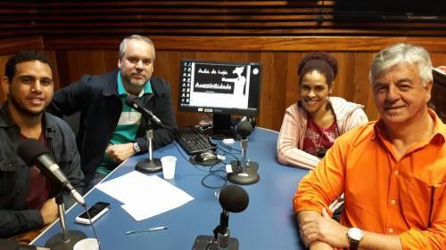 Wilson Neto, Cadu Freitas, Nice Lira e Geraldo Nogueira debatem se a cidade está preparada para receber pessoas com deficiência
