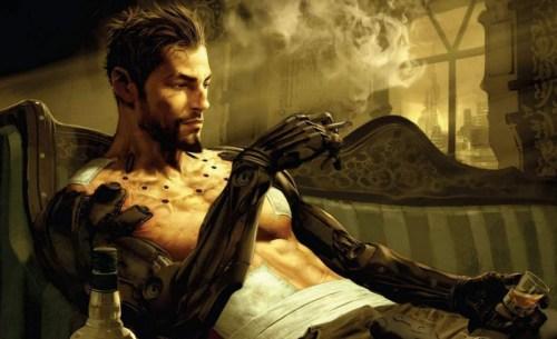 Adam Jensen, protagonista de Deus Ex Human Revolutions