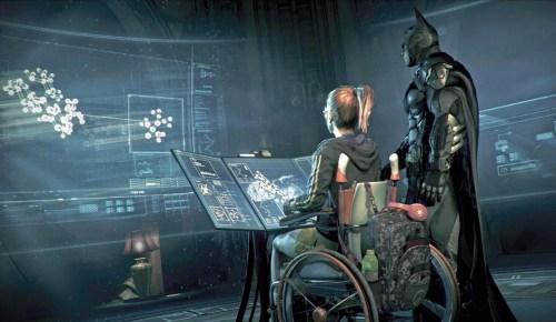 Bárbara Gordon como Oráculo em Batman Arkham Knight