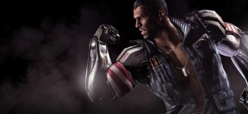 Jax, de Mortal Kombat, conta com dois braços de titânio