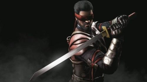 Kenshi perdeu a visão depois de ser traído por Shang Tsung