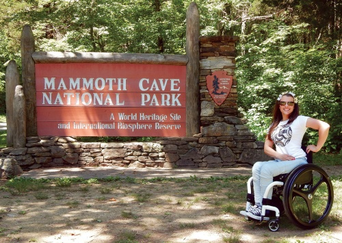 Mammoth Cave National Park. A World Heritage Site and International Biosphere Reserve.