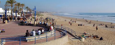 Seis playas gaditanas son candidatas, entre 40 de toda España, para ser elegida como 'La Playa Accesible de los Fans'