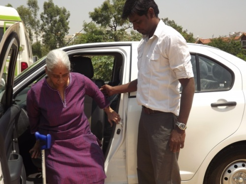 Travel is not easy for persons with disabilities and senior citizens