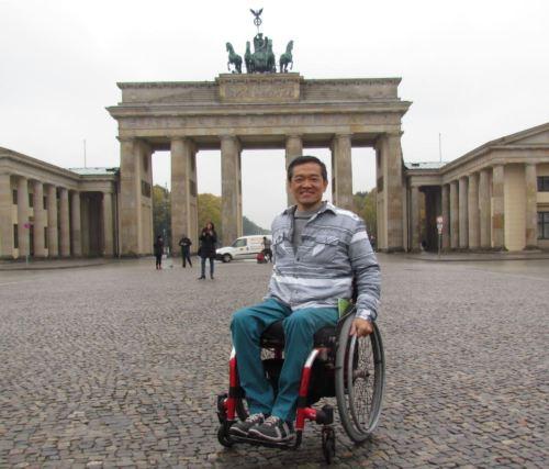 Alemanha foi avaliada por Ricardo Shimosakai, através de sua experiência como profissional do turismo e usuário de cadeira de rodas