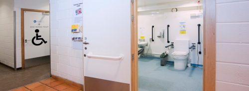 Clos-o-Mat accessible disabled toilet