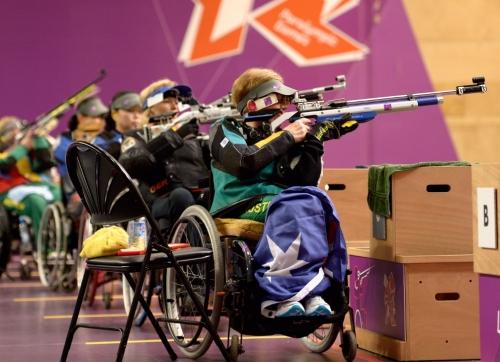 Um teste de precisão. O tiro esportivo estreou nos Jogos Paralímpicos em Toronto 1976. No Rio 2016, os atletas miram o pódio em 12 provas