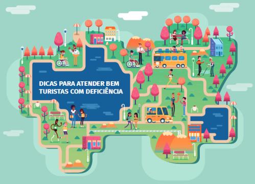 Foram produzidos 35 mil exemplares da publicação, que já está sendo distribuído a prestadores de serviços turísticos de todo Brasil