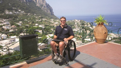 john-sage-president-of-accessible-travel-solutions-in-capri-italy