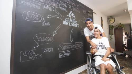 Los hermanos Oliver y Juan Luis Marfil Fernandez van a hacer el Camino de Santiago francés para promover la accesibilidad