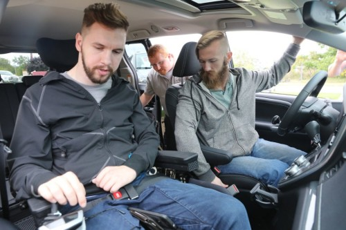 brothers-adam-left-and-matthew-chaffee-drive-away-from-clock-mobility-in-grand-rapids-with-new-customized-van