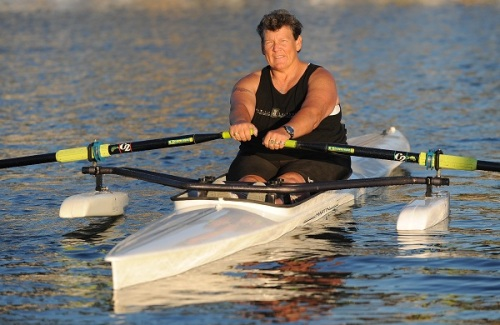 Long Beach resident Angela Madsen is a Paralympian and world-record rower.