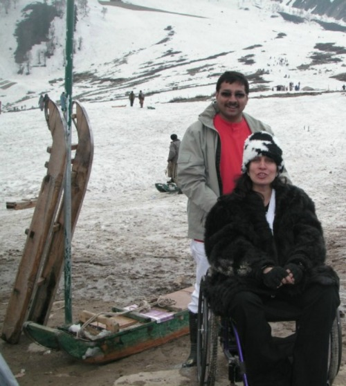 """""""I am not disabled,"""" Sunita says. """"It's the infrastructure that has disabled me."""""""
